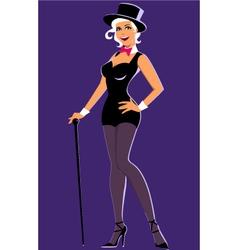 Showgirl vector