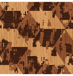 wooden pattern vector image vector image