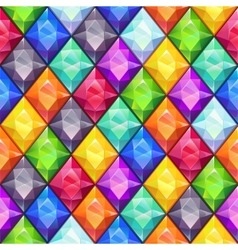 Cool bright colorful seamless pattern vector image