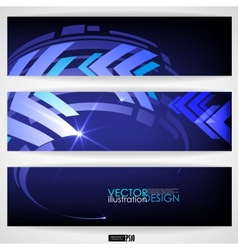 Arrow Blue Background With Place For Your Text vector