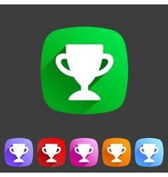 Flat icon score vector image