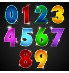 Glowing Number vector