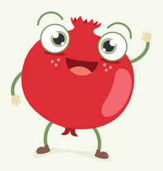 Pomegranate character vector