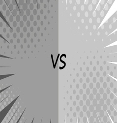 Versus letters fight backgrounds vector