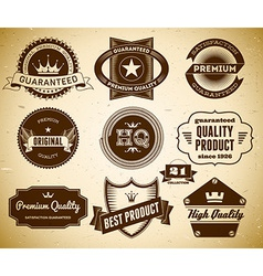 Vintage labels Collection 21 vector image
