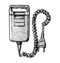 electric razor vector image