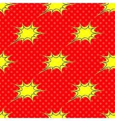 Big Bang theory vector image