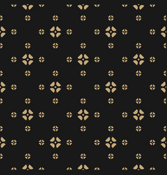 Abstract geometric gold and black background vector