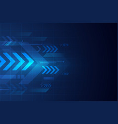 Abstract modern technology background or banner vector