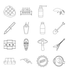 Medicine furniture army and other web icon in vector