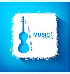 music design concept vector image