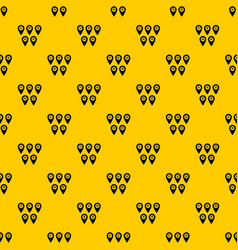 pointer marks pattern vector image