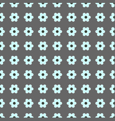 Seamless pattern with floral pattern vector