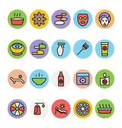 SPA Colored Icons 4 vector