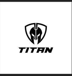 Titan logo graphic modern abstract vector