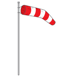 windsock vector image