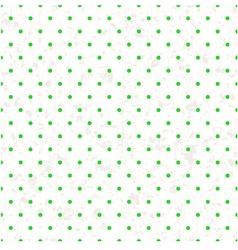 seamless retro polka dots paper texture vector image vector image