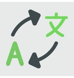 Translation vector image vector image