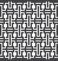 Abstract pattern geometric shape futuristic square vector