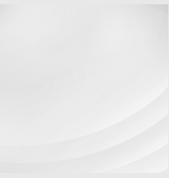 abstract striped curve lines smooth gray and vector image