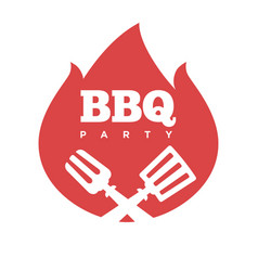 Barbecue or grill party icon bbq vector