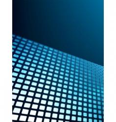 Blue waveform background vector