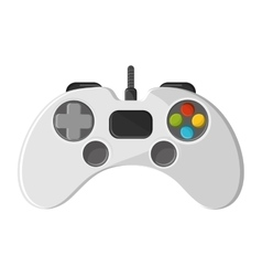 Isolated videogame control design vector image
