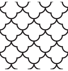 Japanese Wave Seamless Pattern vector