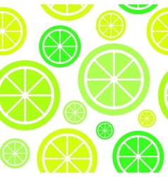 Lemon Fruit Abstract Seamless Pattern Background vector image