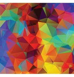 Multicolor geometric background vector