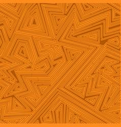 orange color geometric seamless pattern vector image