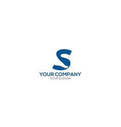 S foot logo design vector
