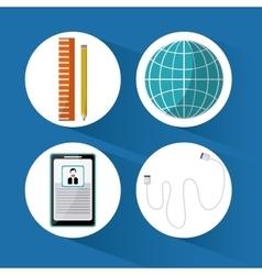 SEO icons design vector