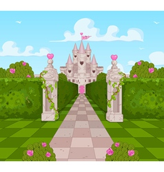 Romantic Castle vector image