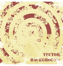 Abstract spiral grunge pattern background vector image