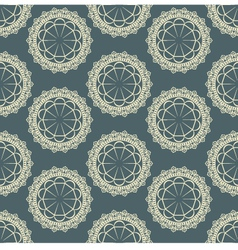 background with a seamless pattern vector image