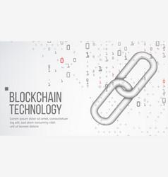 blockchain finance business concept peer vector image
