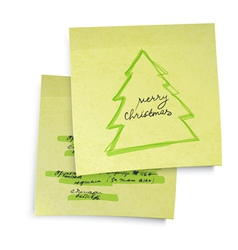 business yellow sticky notes vector image