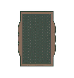 decorative vintage frame and border vector image
