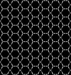geometric braided mesh shape pattern background vector image