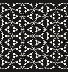 geometric seamless pattern with triangular shapes vector image