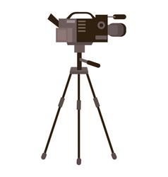 Isolated videocamera design vector