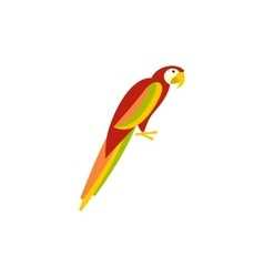 Parrot icon in flat style vector image