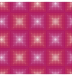 Seamless abstract pattern with stylized circle vector image