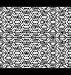 Seamless pattern based on japanese geometric vector