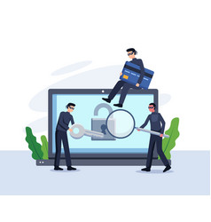 steal data concept vector image