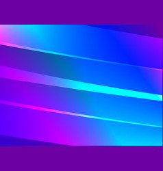 abstract lights background blue gradient lines vector image