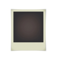 blank photo frame vector image