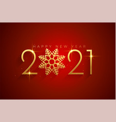 Elegant 2021 happy new year and merry christmas vector