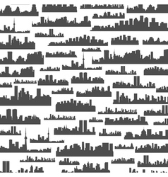 Landscape a background vector image